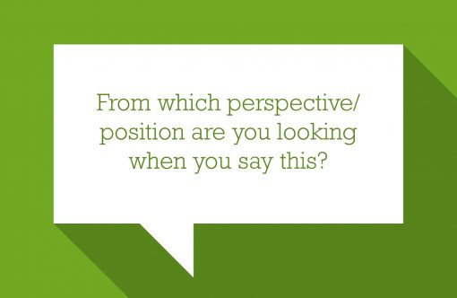 Moving Questions - From which perspective